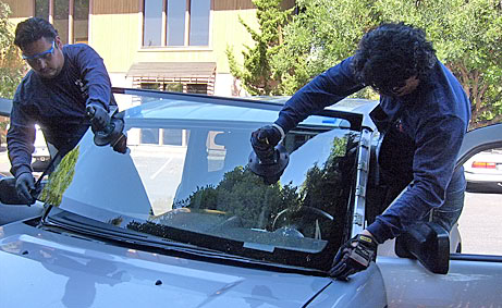 Install Windshield